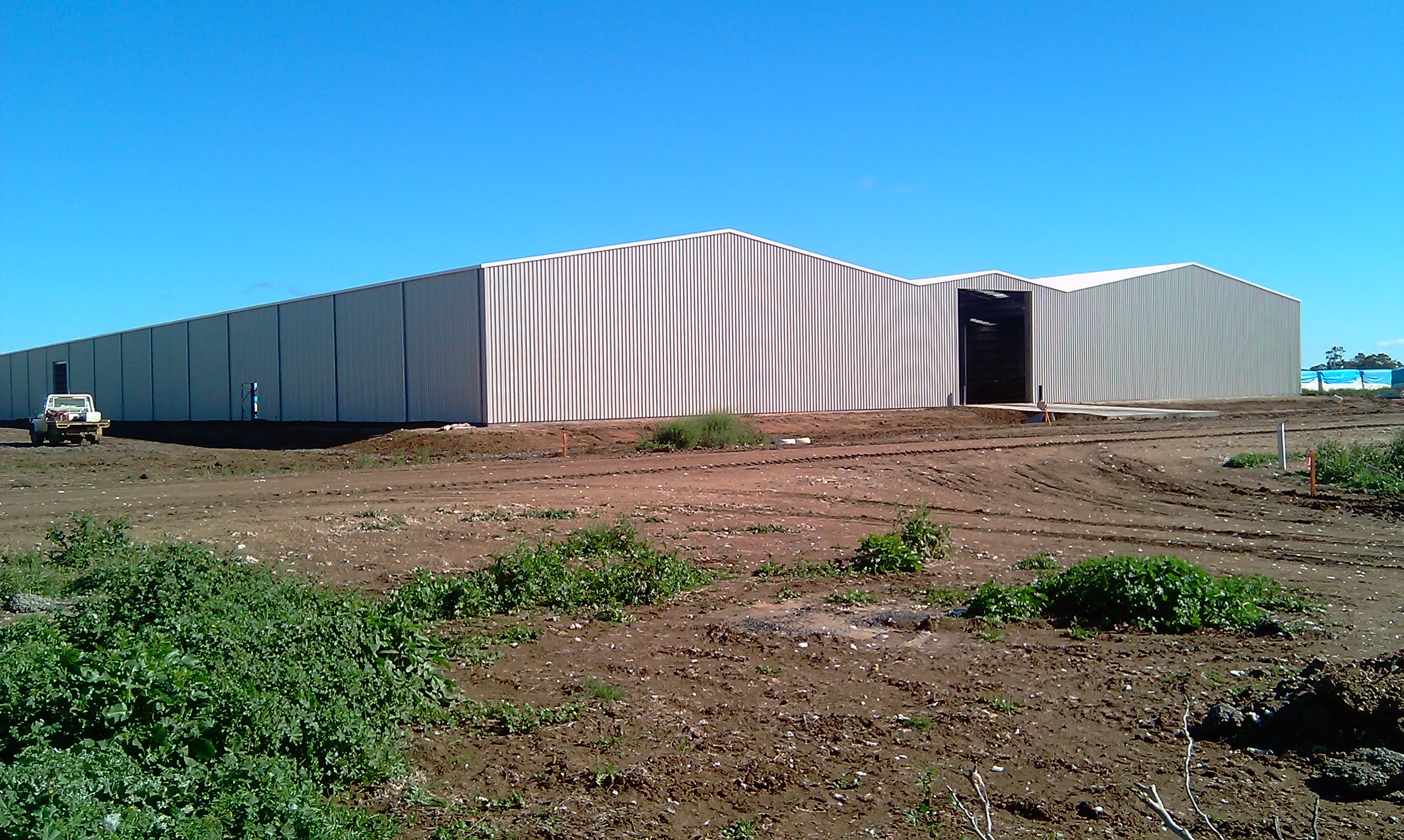 Cotton Storage Facility