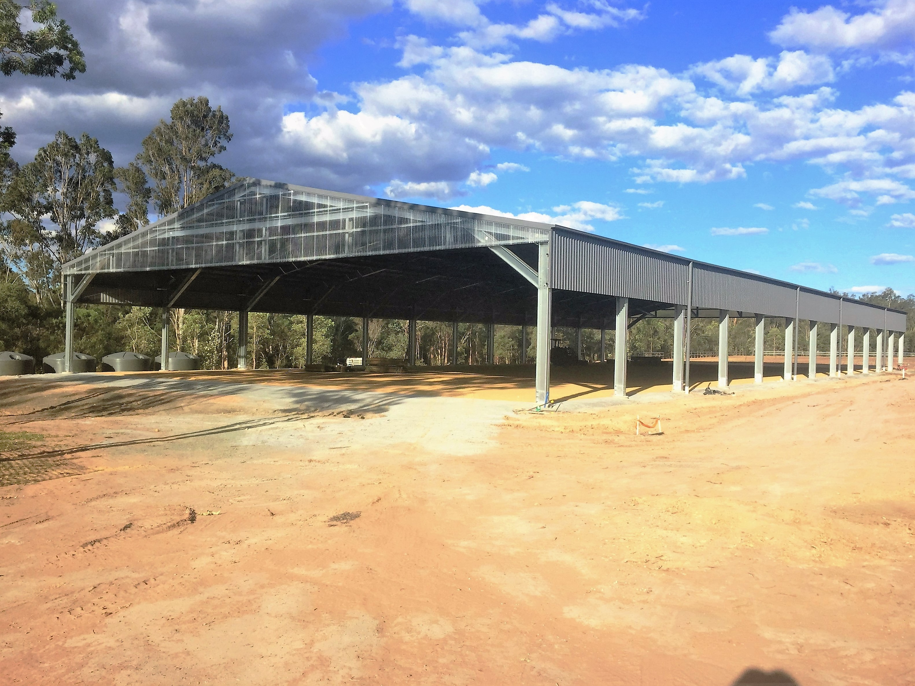 Equestrian Arena Roof Cover